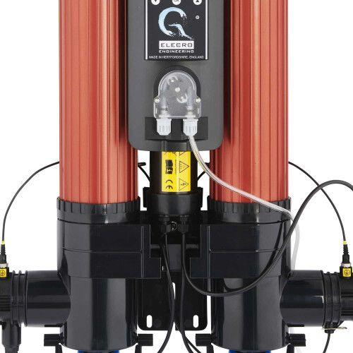 Ультрафиолетовая фото каталитическая установка Quantum QP-130 с дозирующим насосом Elecro