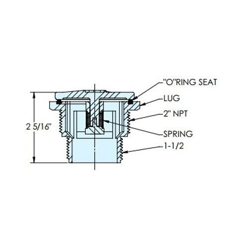 Дренажный клапан SP1056 Hayward