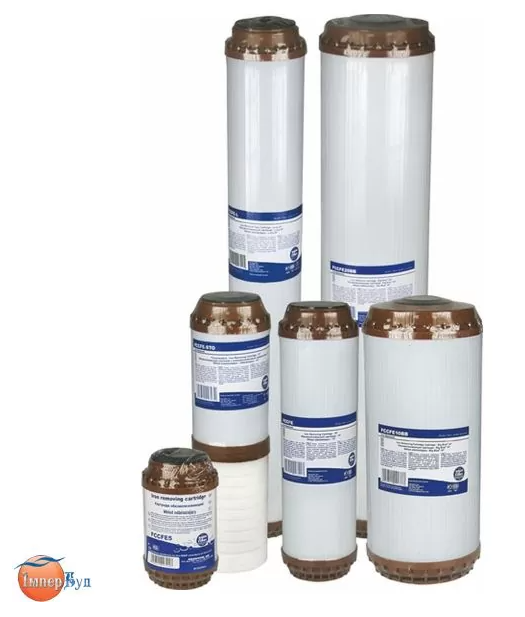 """Картридж для удаления из воды растворенного железа Aquafilter 20ВВ FCCFE20BB - 20"""" x 4 1/2"""""""