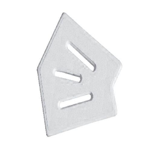 Угловая часть для переливной решетки 45° AquaViva Classic и Grift 245/25 мм
