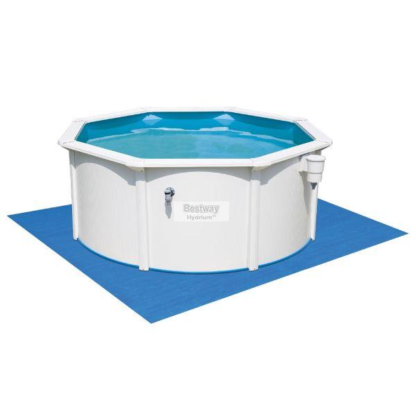 Сборный бассейн Bestway Hydrium Pool Poseidon 56574/56285 (360x120) + фильтр, лестница и тент