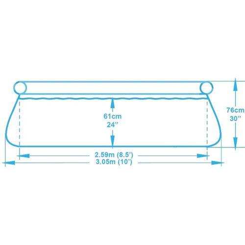 Надувной бассейн Bestway 57270/57109 (305х76) с картриджным фильтром