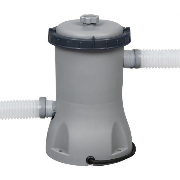 Каркасный бассейн Bestway 56420/56088 (366х122) + картриджный фильтр, тент и лестница