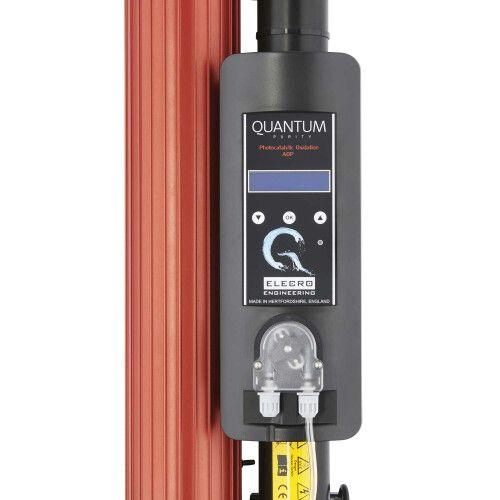 Ультрафиолетовая фотокаталитическая установка Quantum QP-65 с дозирующим насосом Elecro