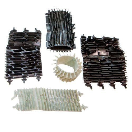 Комплект щеток для пылесоса Black Pearl 7310 (5 шт) AquaViva