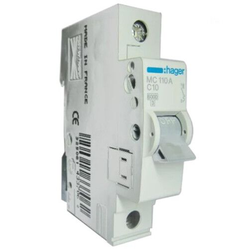 Автоматический выключатель Hager MC 1-полюсный 6kA тип С