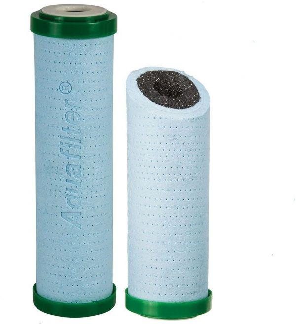 Картридж из полипропилена и угля Aquafilter FCPS5-BL-AB (Антибактериальный)