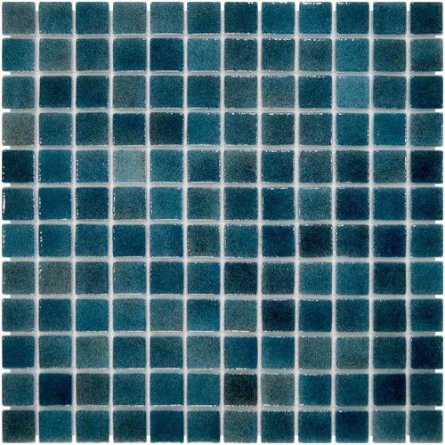 Стеклянная мозаика Темно-синяя Aquaviva Dark Blue