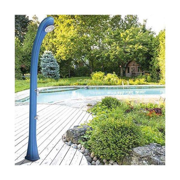 Душ солнечный So Happy с мойкой для ног, голубой, 28 л DS-H221BL