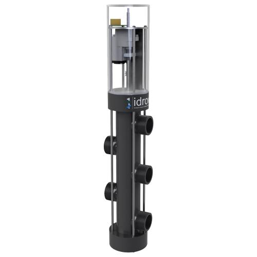 Автоматический вентиль обратной промывки пятиточечный Idroway