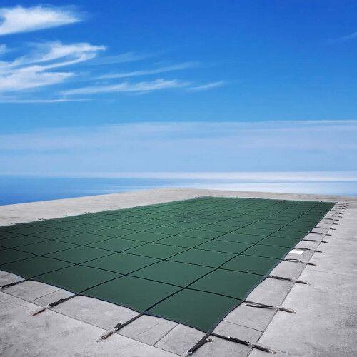 Батутное накрытие для бассейна Green Aquaviva