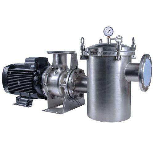 Насос центробежный AquaViva LX SCA100-80-160/11T (380В, 158 м3/ч, 15НР)