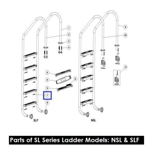 Винты для крепления ступеней лестницы M5.5 X 35 Emaux