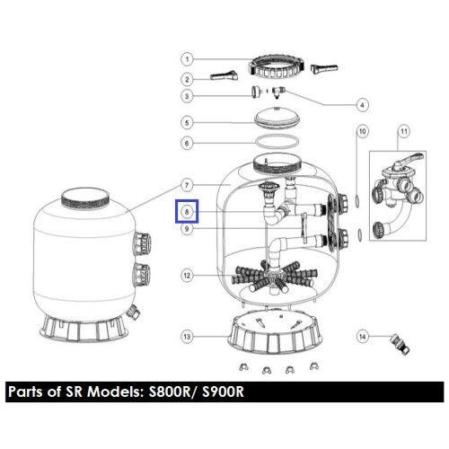 Диффузор фильтра S800 Emaux