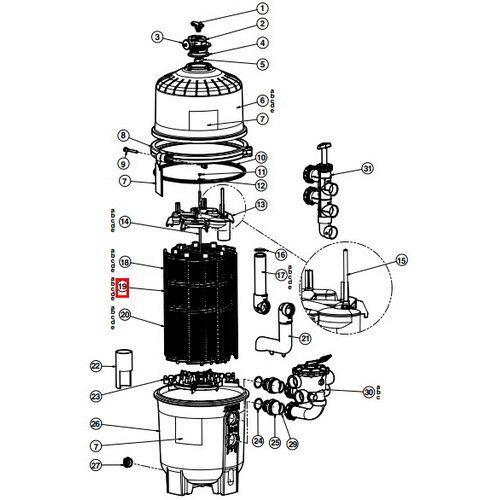 Фильтрующий элемент DEX2400DS