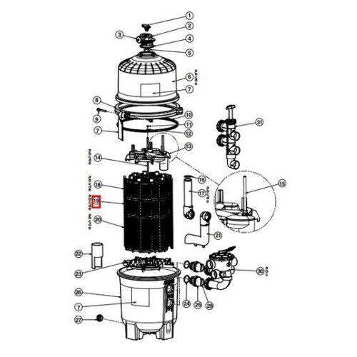 Фильтрующий элемент DEX7200DS
