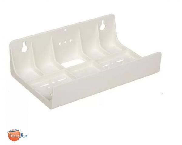 """Универсальный двойной пластиковый кронштейн Aquafilter FXBR2 к корпусам фильтров 5"""" и 10"""""""