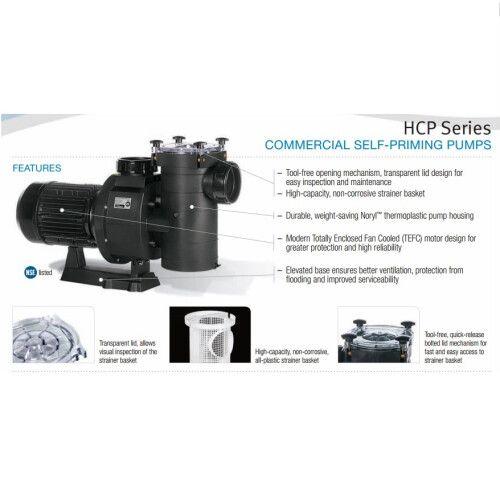 Насос для фильтрационной установки Hayward EP100, 15.4 м3 / ч 220В / 380В