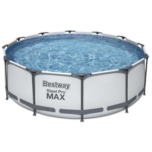 Каркасный бассейн Bestway 56418 (366х100) с картриджным фильтром и лестницей