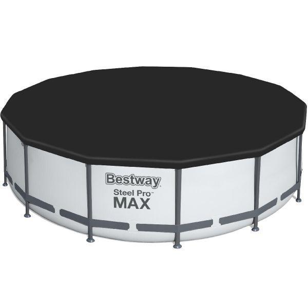 Каркасный бассейн Bestway 56438/56100 (457х122) с картриджным фильтром и лестницей