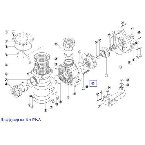 Диффузор на KAP/KA Kripsol