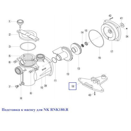 Подставка к насосу для NK RNK180.R