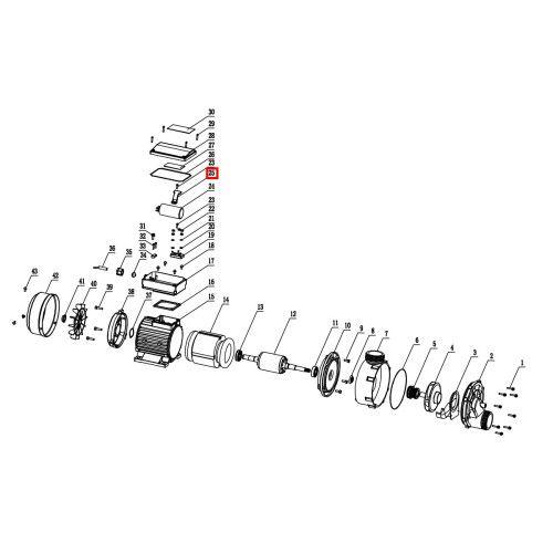 Крыльчатка вентилятора для насоса WTC Aquaviva