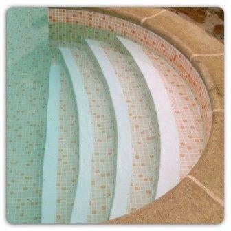 """ПВХ лайнер ELBE SBGD 160 """"Mosaic sand"""", песочная мозаика, с акриловым покрытием"""