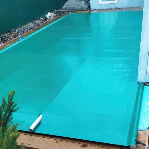 Поливиниловое накрытие для бассейнов (Green) Aquaviva