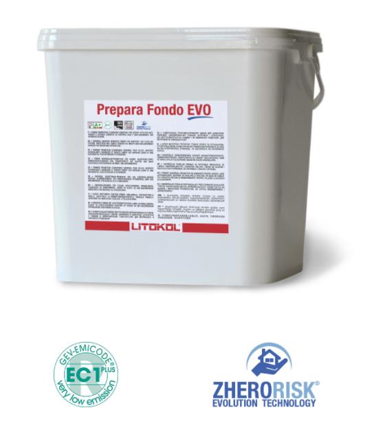 Грунтовка для гладких и невпитывающих оснований PREPARA FONDO EVO
