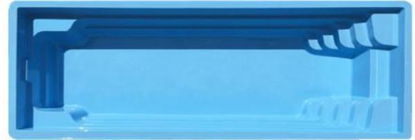 """Стекловолоконный бассейн """"Оскар"""" 8,2x3,6м Favorit"""