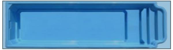 """Стекловолоконный бассейн """"Атлантида"""" 10,3x2,9м Favorit"""