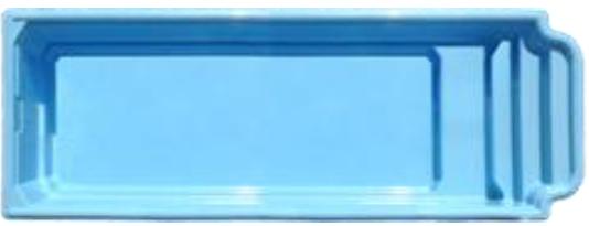 """Стекловолоконный бассейн """"Оскар"""" 6,2x3,6м Favorit"""
