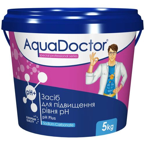 Средство для повышения уровня pH AquaDoctor pH(+) Plus