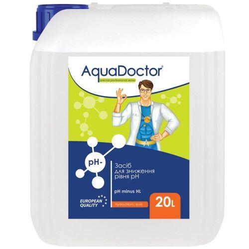 Жидкое средство для снижения pH AquaDoctor pH Minus(-) HL (Соляная 14%)