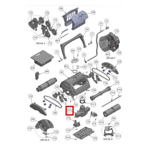 Управляющий мотор AS2904140-SP Viva Go