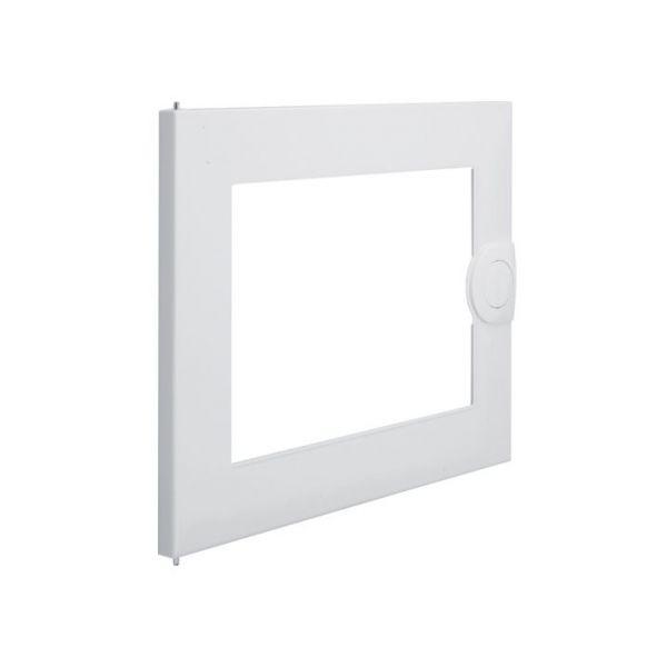 Дверь для распределительного щита металлическая, с прозрачным окном Volta VA12CN