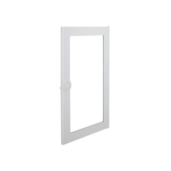 Дверь для распределительного щита металлическая, с прозрачным окном Volta VA36CN