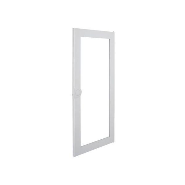 Дверь для распределительного щита металлическая, с прозрачным окном Volta VA48CN
